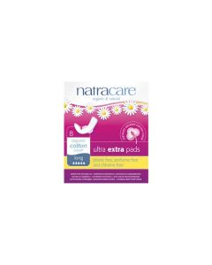 Natracare Ultra extra pads 8 long