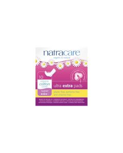 Natracare Ultra extra pads 10 super