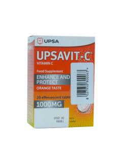 Upsa Upsavit-C 1000 mg 20 eff tabs
