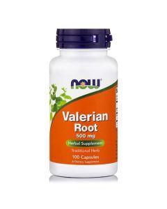 Now Valerian Root 500 mg 100 caps