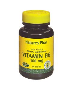 Nature's Plus Vitamin B6 100 mg 90 tabs
