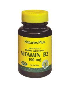 Nature's Plus Vitamin B2 100 mg 90 tabs