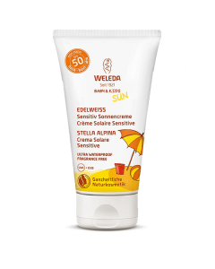 Weleda Sun Edelweiss Baby & Kids Sunscreen Lotion Sensitive SPF50 50 ml