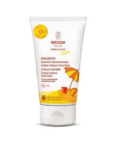 Weleda Sun Edelweiss Baby & Kids Sunscreen Lotion Sensitive SPF30 150 ml
