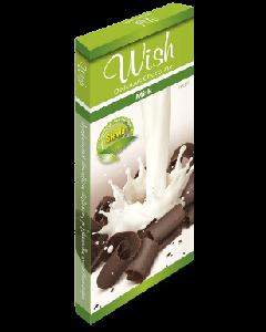Wish Milk chocolate with stevia 50 gr