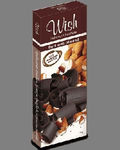 Wish Σοκολάτα υγείας αμυγδάλου 75 gr