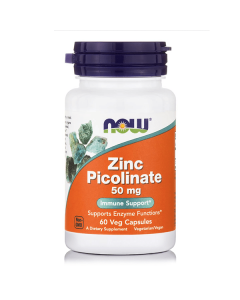 Now Zinc Picolinate 50 mg 60 caps