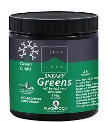 Terra Nova Child Sneaky Greens Super shake 180 gr