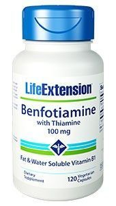 Life--Extension--Benfotiamine--with--Thiamine--100--mg--120--caps