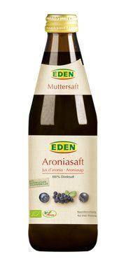 Eden Χυμός Αρώνια χωρίς ζάχαρη 330 ml