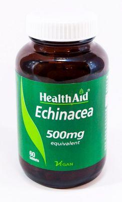 Health Aid Echinacea 500 mg equivalent 60 tabs