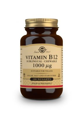 Solgar Vitamin B-12 1000 μg 100 nuggets