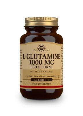 Solgar--L--Glutamine--1000--mg--60--vegtabs