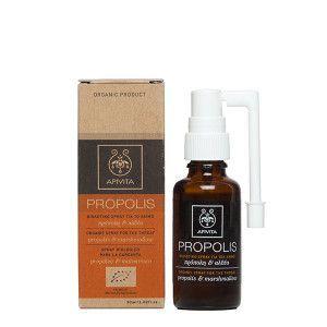 Apivita Propolis Βιολογικό Spray για το λαιμό πρόπολη & αλθαία 30 ml