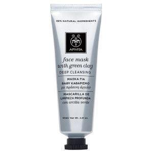 Apivita Face mask Green clay Deep cleansing 50 ml