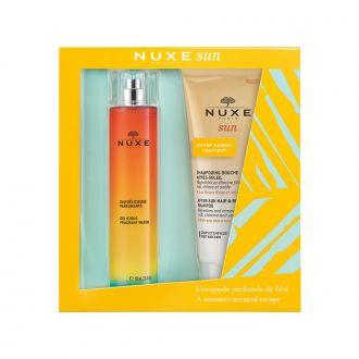 Nuxe Sun Eau Delicieuse Parfumante 100 ml & Shampooing Douche Apres Soleil 200 ml