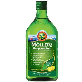Mollers--Cod--Liver--Oil--Lemon--250--ml