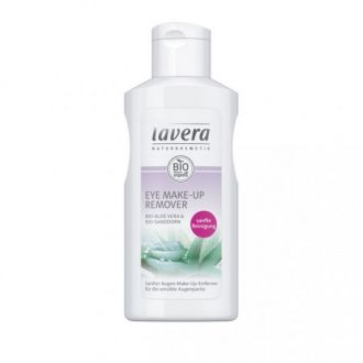 Lavera Eye Make-up Remover Organic Aloe & Sea Buckthorn 125 ml