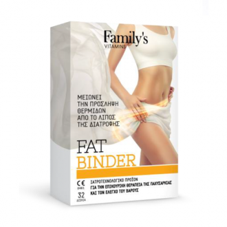 Family's Vitamins Fat Binder 32 tabs