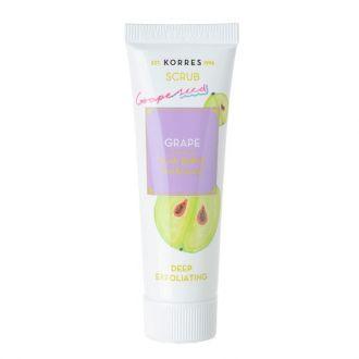Korres Scrub Grape Deep Exfoliating 18 ml