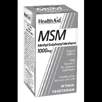 Health Aid MSM 1000 mg 90 tabs