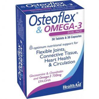 Health Aid Osteoflex & Omega 3 30 tabs & 30 caps