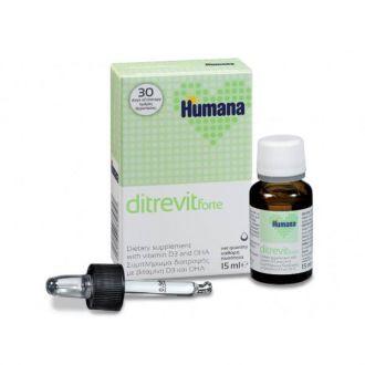 Humana Ditrevit Forte D3 & DHA 15 ml