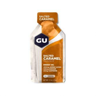 GU Energy Gel Salted Caramel 20 mg caffeine 32 gr