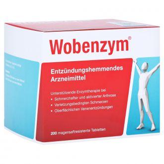 Mucos Pharma Wobenzym Plus 200 Tabs Enzyme Therapy For Arthritis
