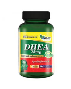 AMS DHEA 25 mg 60 tablets