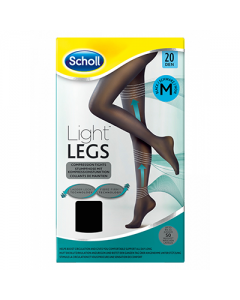 Dr Scholl Light Legs Tights 20 den Black Medium