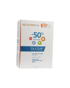 Ducray Melascreen legere Dry touch SPF50+ 40 ml 1+1