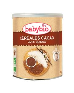 Babybio Organic Cereal Cacao Rice Quinoa 220 gr