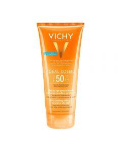 Vichy Ideal Soleil Wet Skin face-body milk-gel SPF50 200 ml