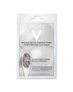 Vichy Pore Purifying Clay Mask 2 x 6 ml
