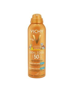 Vichy Ideal Soleil Enfant Anti-Sand face-body Spray SPF50+ 200 ml