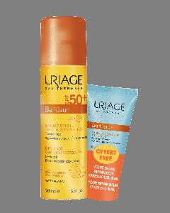 Uriage Bariesun Dry Mist SPF50+ 200 ml & Repairing Balm After Sun 50 ml