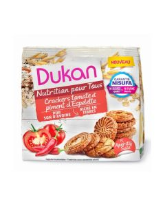 Dukan Tomato Crackers Espelette Chilli Pepper 100 gr