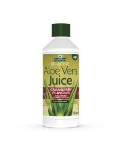 Optima Aloe Vera Juice with Cranberry 1000 ml