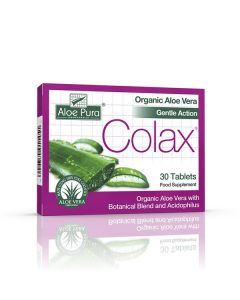 Optima Aloe Vera Gentle Action Colax (Colon Cleanse) 30 tabs