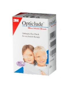 3M Opticlude Adults Maxi 20 eye patches 5.7 x 8.2 cm