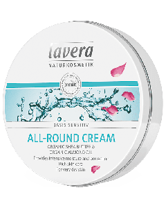 Lavera Basis Sensitiv All-Round Cream Organic Shea butter & Almond oil very dry skin 150 ml
