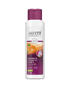 Lavera Volume & Strength Shampoo Organic Orange & Green tea fine hair 250 ml