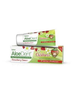 OPTIMA Aloe Dent Strawberry Children's Toothpaste 50ml (φράουλα)