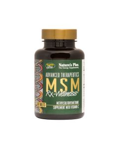 Nature's Plus MSM Rx-Wellness 1000 mg 60 tabs