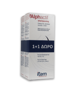 Item Alphactif Shampoo 200 ml 1+1
