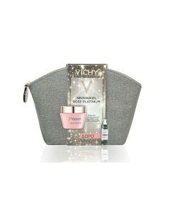 Vichy Neovadiol Rose Platinum 50 ml & Dercos Nutrients VItamin A.C.E Shine Shampoo 100 ml