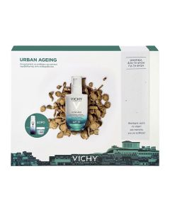 Vichy Slow Age Urban Ageing Protection Fluid SPF25 50 ml & Eau Thermale 50 ml & Mineral Mask 15 ml