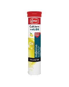 Lanes Calcium & Vitamin D3 20 eff tabs