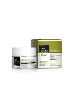 Farcom Mea Natura Olive Moisturizing Revitalizing Face & Eyes Cream 24H 50 ml